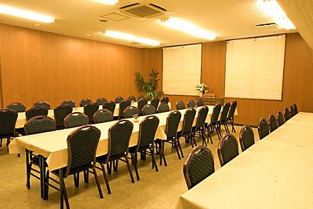 品格ある椅子席会席ホール 50人収容可