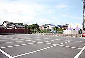 安心の大駐車場