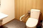 車椅子対応トイレ